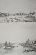 NAPOLEON STEYER MOELK VIENNE  GRAVURE 1838 VERSAILLES R1092 IN FOLIO