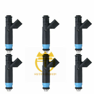04861238AC Fuel Injectors For Dodge Grand Caravan Chrysler Pacifica 3.8L V6