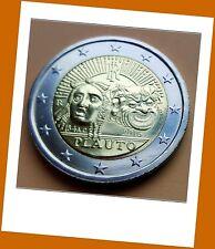 2 Euro Gedenkmünze Italien 2016 - 550. - PLAUTO - Neu Lieferbar