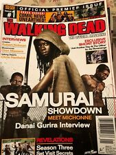 The walking dead official magazine #1-12 +#15