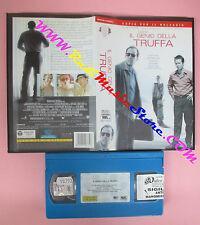 VHS film IL GENIO DELLA TRUFFA 2003 Nicolas Cage Ridley Scott WARNER(F20) no*dvd