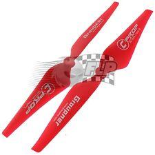 Graupner Copter Prop 10x4 Red 6/8mm (1L&1R) E-1348/10x4-6