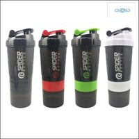 NEW Sports Shaker Bottle Whey Protein Powder Mixing Bottle Sports Nutrition Prot