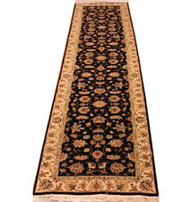 2 ft 6 in x 10 ft Black runner rugs for sale Traditional 300 x 71 cm