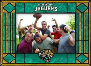 Jacksonville Jaguars Horizontal Art Glass Photo Frame