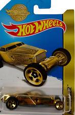 "Hot Wheels ""Hola Rodillo"" efecto Die cast Modelo de coche de oro"