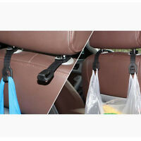 2Pcs Car Hook Holder Hanger Headrest Auto Back Seat Hooks For Bag Purse