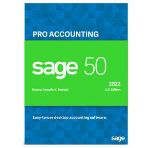SAGE 50 2022 PRO (NOT A SUBSCRIPTION)