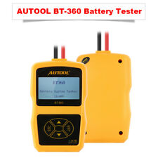 AUTOOL BT-360 DC 12V Vehicle Battery System Tester Car Charging Test Analyzer