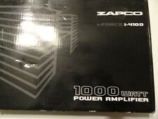 ZAPCO I-FORCE  I 4100 4 CHANNEL AMP NEW IN BOX
