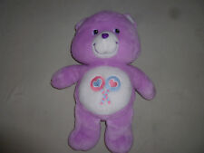 "LARGE 20"" SHARE BEAR CAREBEAR PLUSH 2003 PLAY ALONG STUFFED ANIMAL LOLLIPOPS TOY"