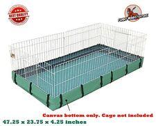 Guinea Pig Habitat Pet Cage Removable Canvas Bottom Leak Proof High Side Safe