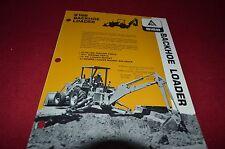 Allis Chalmers 816B Backhoe Dealer's Brochure YABE8 Ver1