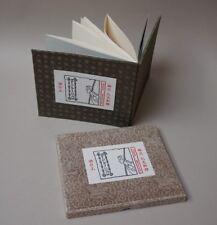 Glen BAXTER, Podium, livre d'artiste xylographié, signé, Pékin, RARE