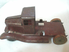 REstorable Vintage Toy Truck , steel , Circus Wheels,1930's to 1940's  ? ,(**)