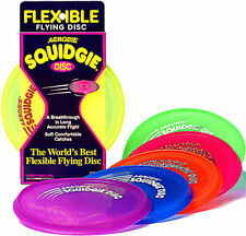 Aerobie Frisbee Flying Disc Soft And Flexible Design Stable Flight Garden Game