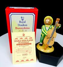 "ROYAL DOULTON #DB185 DOUBLE BASE PLAYER EXCL UKI CERAMICS 4"" BUNNYKINS FIGURINE"
