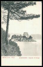 AK ITALIEN PORTOFINO CASTELLO PARAGI old postcard Ansichtskarte bi86