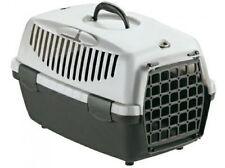 Trasportino gulliver 1 cani piccola taglia gatti colore grigio porta in plastica