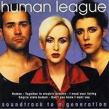 HUMAN LEAGUE- SOUNDTRACK TO A GENERATION. CD.