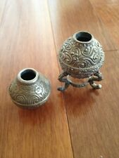 Decorative Metal Containers Vases