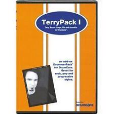 TERRYPACK 1 DVD TERRY BOZZIO,LOOPS,VARIATIONS FILLS AND DRUMKITS BRAND NEW
