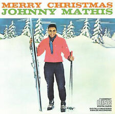 Merry Christmas by Johnny Mathis (CD, Oct-1984, Columbia (USA)) cassette tape
