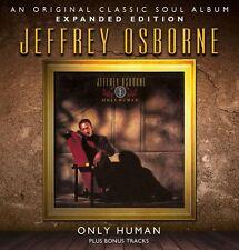 Jeffrey Osborne - Only Human   New cd  Expanded Edition + Bonustracks
