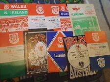 Teams C-E England Football International Fixture Programmes