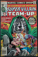 Super Villian Team Up #13 FN/VF 7.0 Doctor Doom, Namor Sub-Mariner