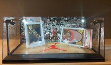 Michael Jordan PSA & BGS LED Display Box. HOF, Chicago Bulls