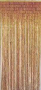 Natural Bamboo Beaded Curtain Natural Beads Window Doors Room Divider Shade Hang
