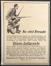 Diana rifle de aire, dianawerk Mayer & grammelspacher, raststatt, ORIG. visualización 1926