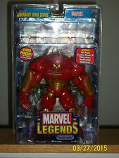 Marvel Legends Hulk Buster Iron Man with Glider and comic book