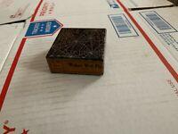 VINTAGE OLD WEBER WET FLYS IN EARLY WEB  BOX CAHILL 1/4/14 1 DOZEN