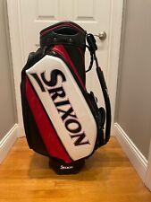 """Srixon SRX Tour Staff Bag 10""""- (Black, Red, White)"""