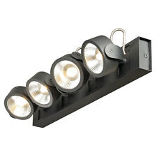 Intalite KALU wall LIGHT, 4 LED spots, matt black, 4x 10W, 3000K, wall plate