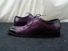 Bolano Brayden Purple Lace Men's Dress Shoes Size 12 (OAR58)