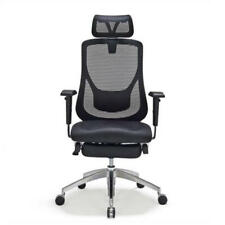 Moustache ® Adjustable Mesh High-Back Swivel Office Chair with Foot Rest Basic