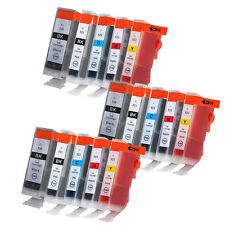 15 XL Ink Cartridges for Canon Pixma iP3600 iP4600 MP540 MP560 MP630 MP980 MX860