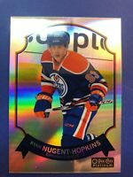 2014-15 OPC Platinum Retro Rainbow #20 Ryan Nugent-Hopkins Edmonton Oilers