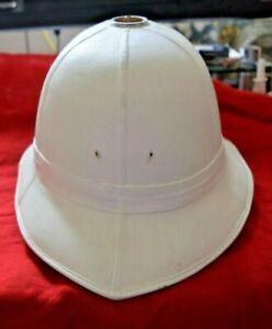 Royal Marines Band Dress Pith Helmet