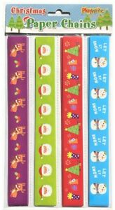 Christmas Paper Chains (100 per pack)