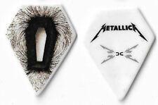 Metallica black/white tour guitar pick