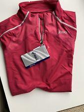 Women's Asics Rose Bud Pink Long Sleeve Running Top Size XL - Performance Top