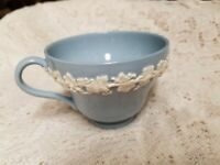 Vintage Wedgwood China Queensware Embossed Cream On Lavender Tea Cup
