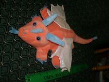 "Hand / Glove Puppet ~ Orange DINOSAUR ~Plush~ CALTOY ~ Approximately 14"" ~ NEW"