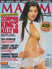 MAXIM Magazine #53 MAY 2002-A - KELLY HU  APRIL O'BRIEN  HEATHER WAHLQUIST !!!