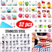 Set Kit de decoración de pasteles Boquillas Bolsas Mangas de repostería 16 Pcs