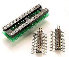 "DIP/ SMT Adapter 28 pin DIP socket to 0.420"" SOIC SOP solder down Plug, SMD, SMT"